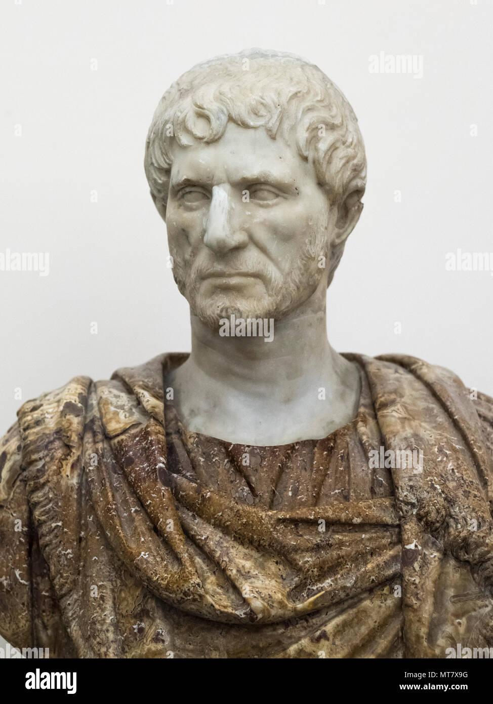 naples italy portrait bust of lucius junius brutus lucio giunio
