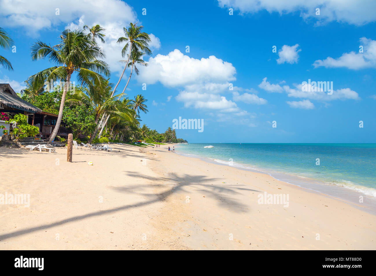 Bang Po Beach in Koh Samui, Thailand - Stock Image