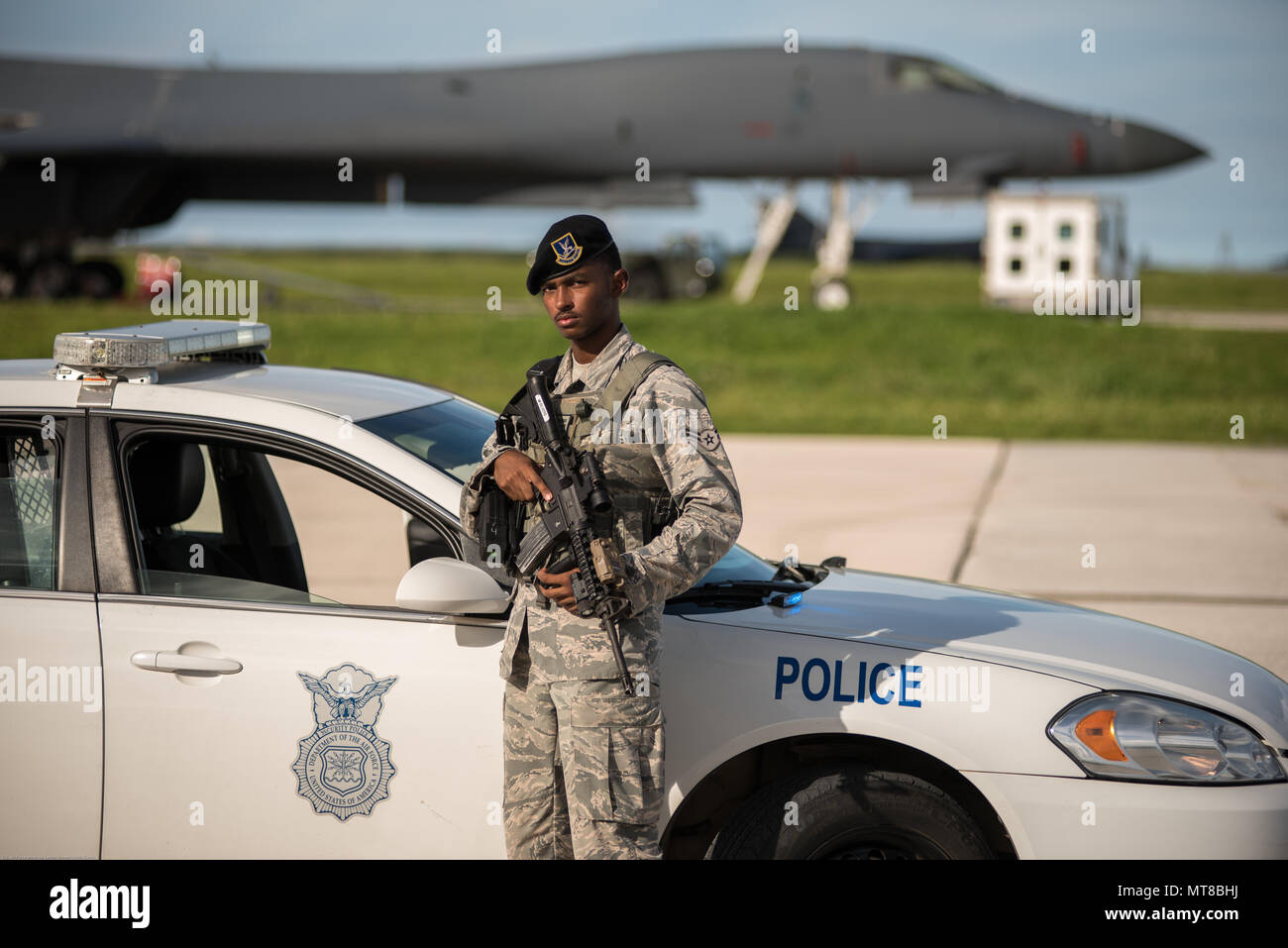 Airman 1st Class Roderick Silvers, a 36th Security Forces