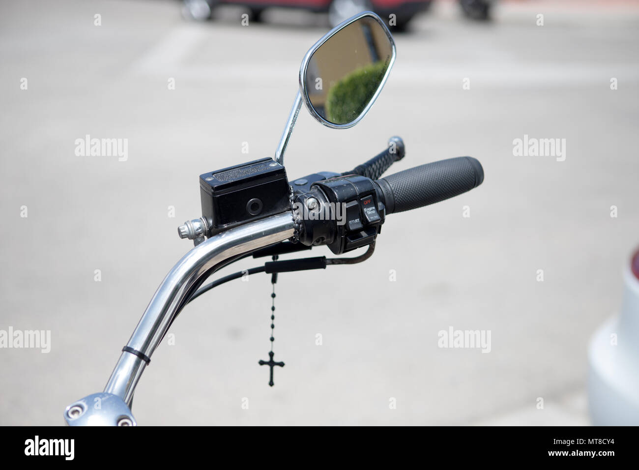 Harley Davidson Handlebars High Resolution Stock Photography And Images Alamy