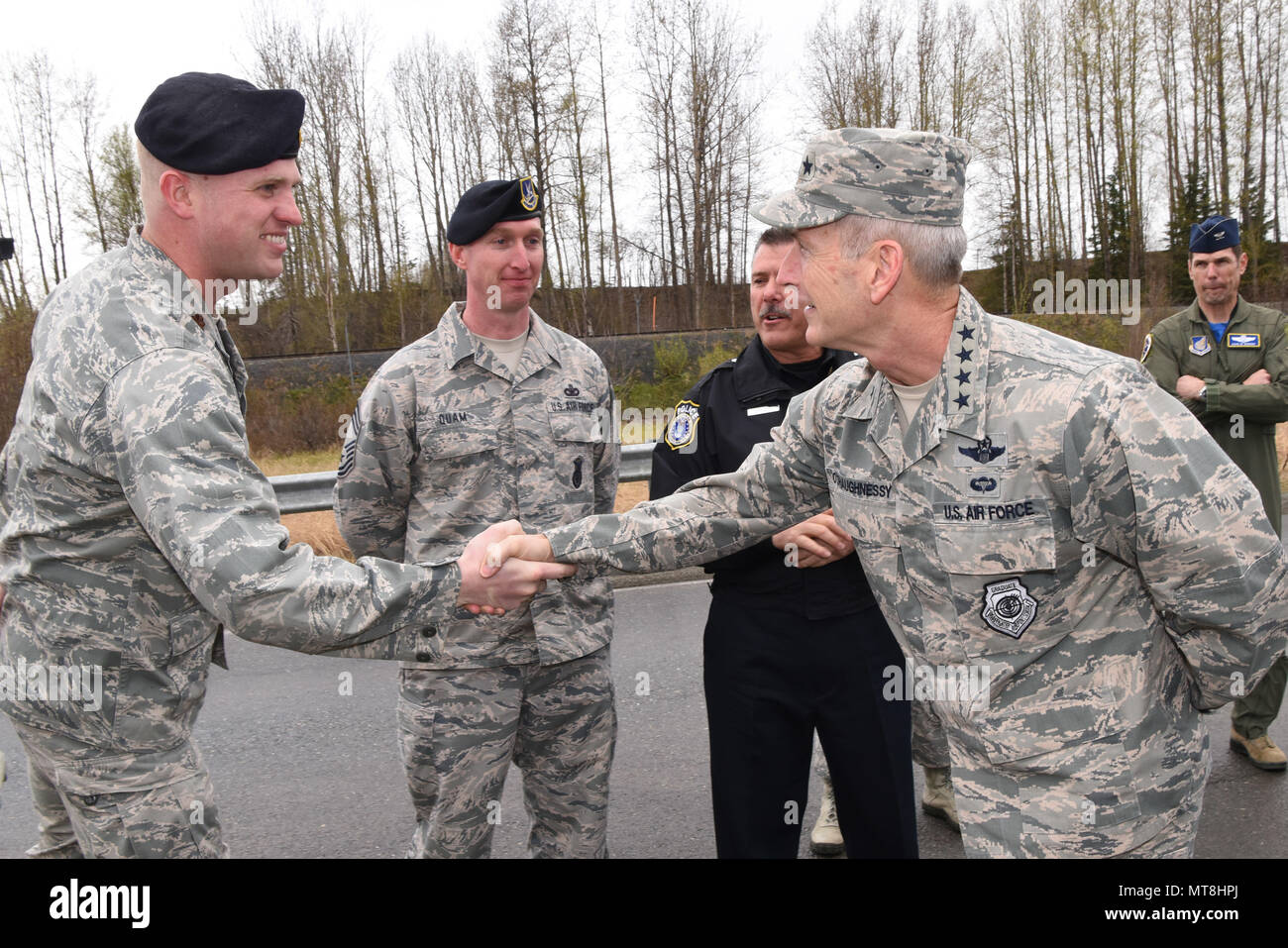 U S  Air Force Gen  Terrence J  O'Shaughnessy, Pacific Air