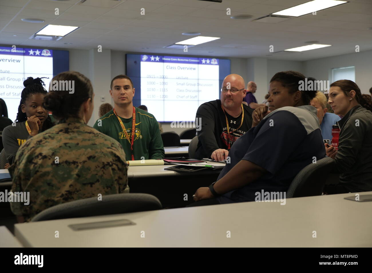 Coaches Discuss Leadership Traits That Coaches And Marines Share At