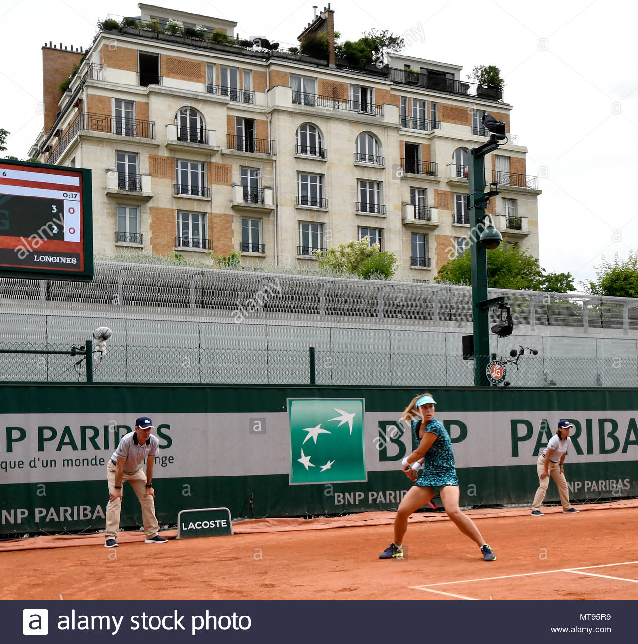 Paris, France. 28th May, 2018. ITF French Open Tennis Roland-Garros