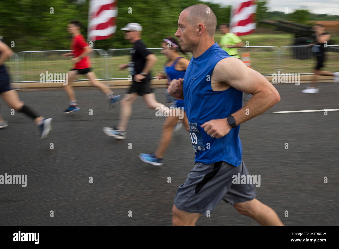 a participant of the 11th annual marine corps historic half mchh