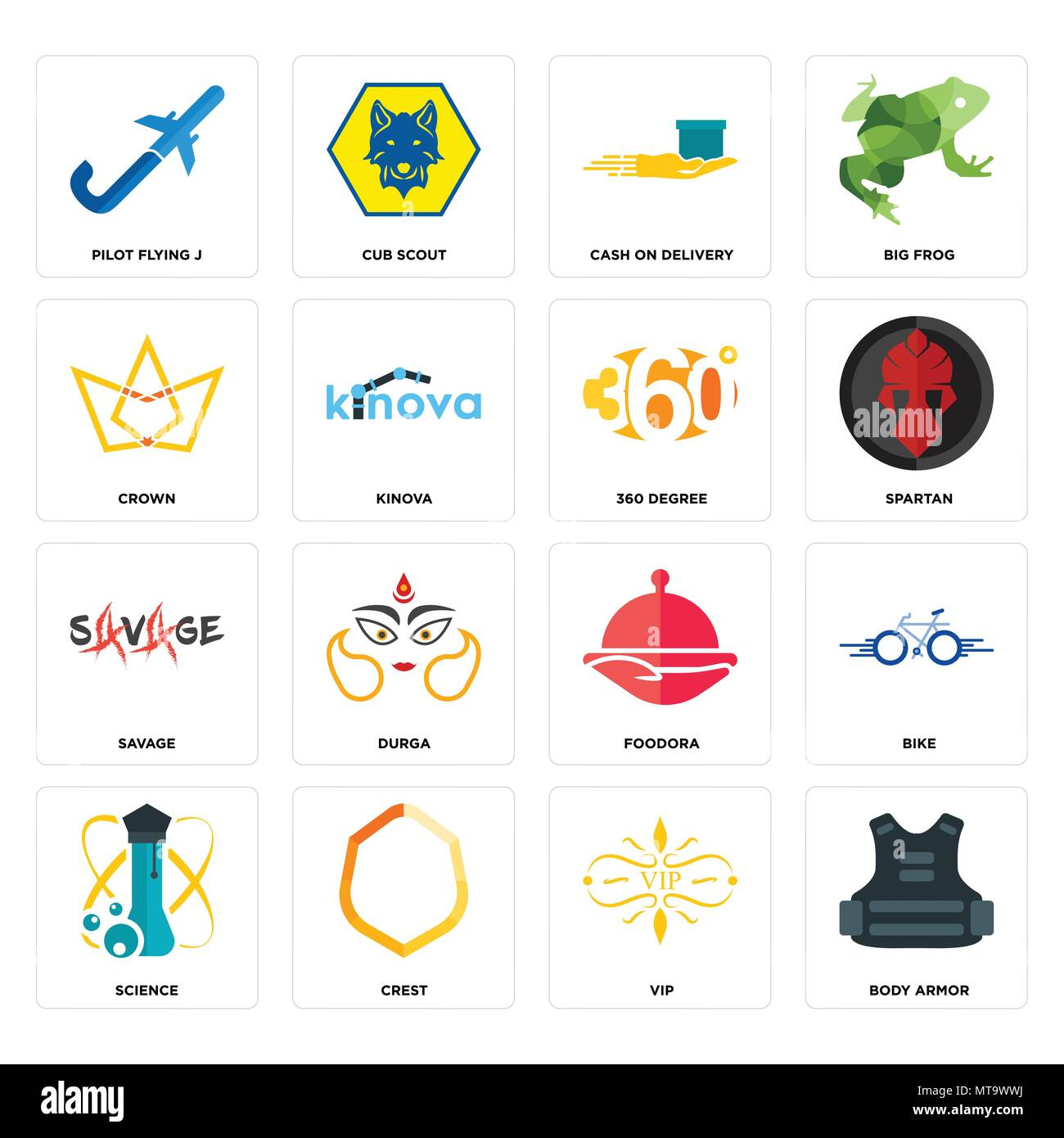 Set Of 16 Simple Editable Icons Such As Body Armor Vip Crest