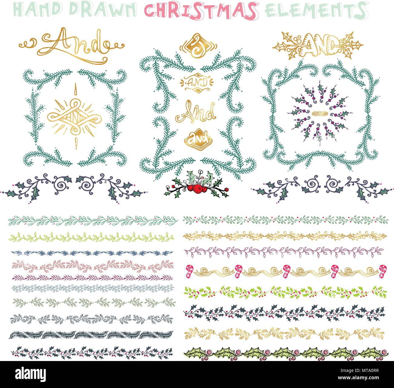 christmas frames and borders stock photos christmas frames and