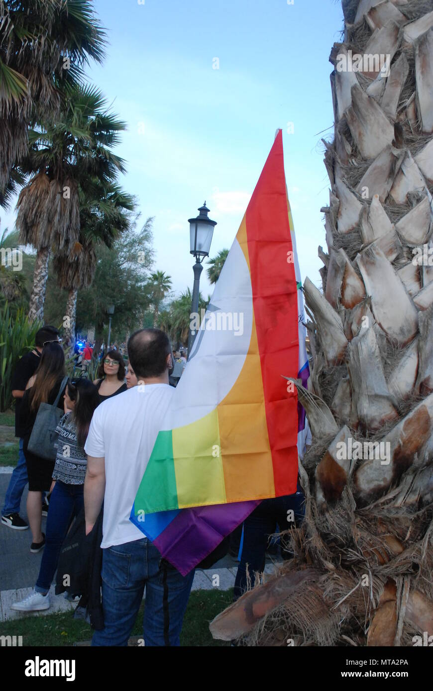Salerno, South Italy, May 26, 2018, Gay Pride event : Gay Pride Salerno. - Stock Image