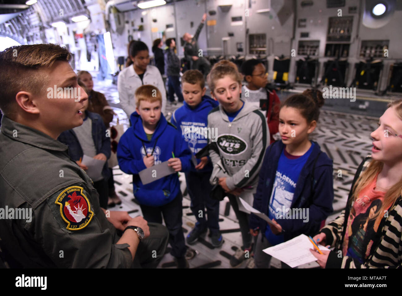 Airmen assigned to the 105th Airlift Wing participated in