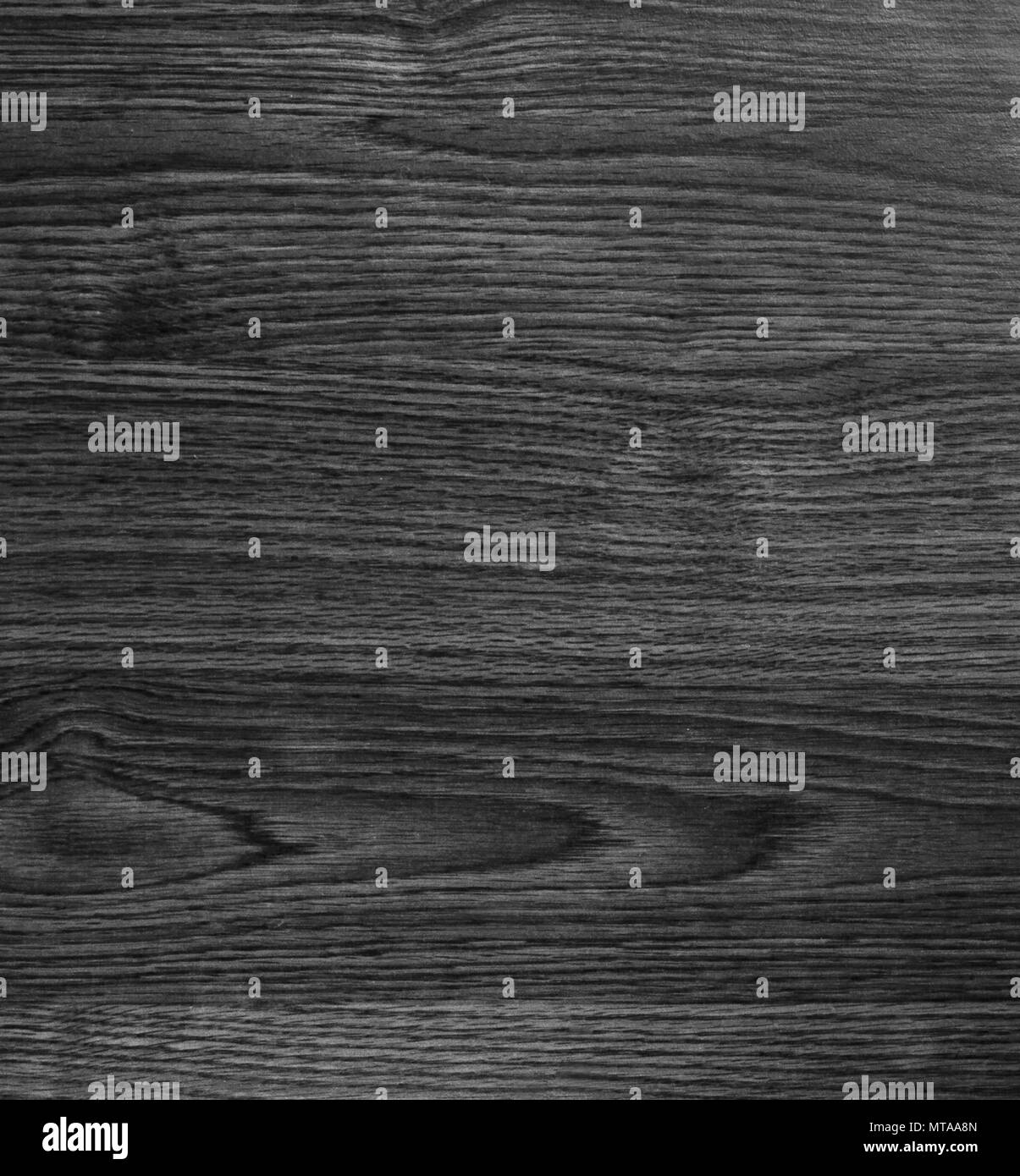 Black wooden texture background blank for design - Stock Image