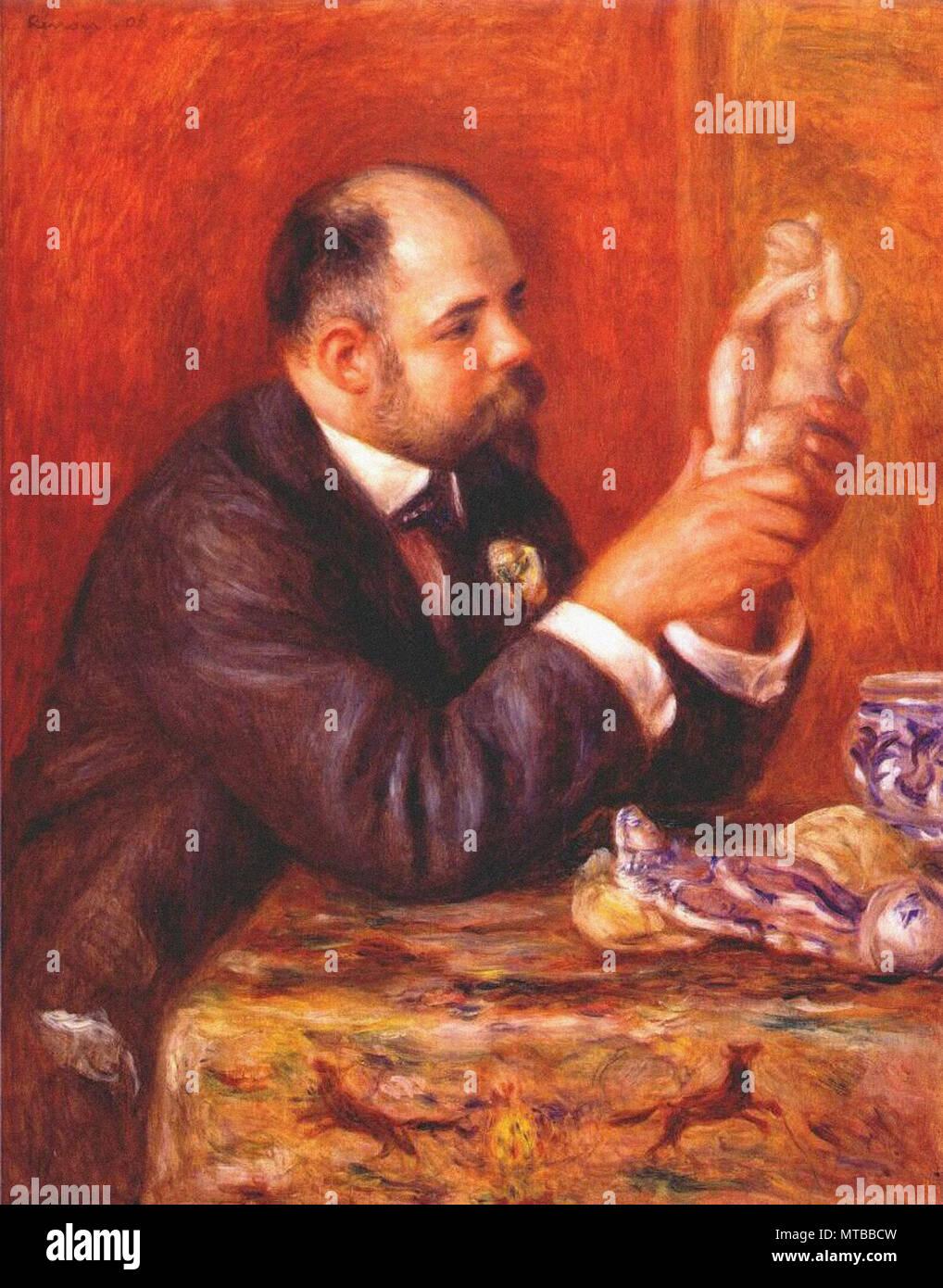 Renoir Pierre-Auguste - Ambroise Vollard 1908 - Stock Image