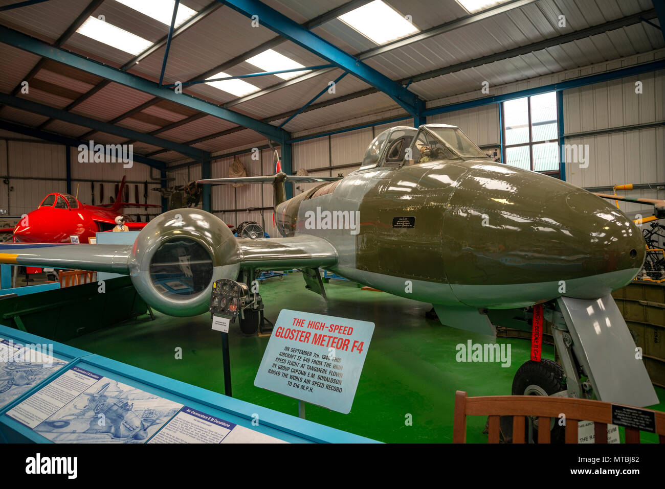 Tangmere Aviation Museum near Chichester, West Sussex, UK - Stock Image