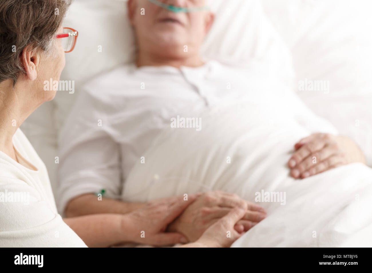 Dying Patient Family Stock Photos & Dying Patient Family Stock