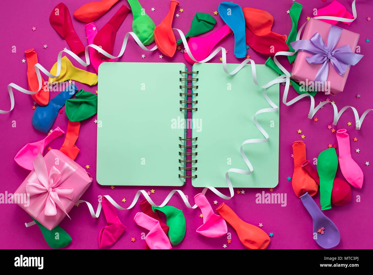 Banner Festive Background Decorative Composition Materials