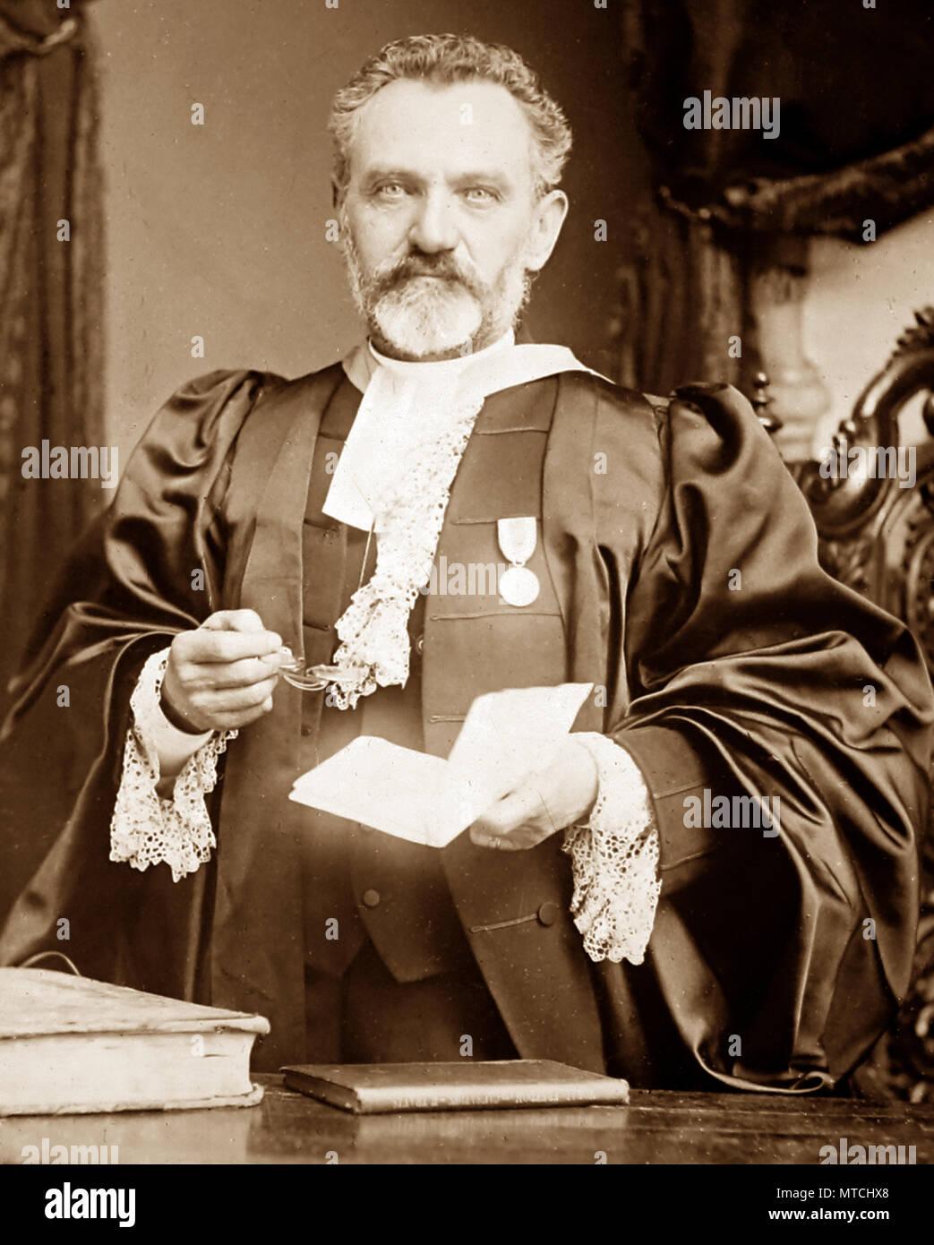 Very Rev James MacGregor, Church of Scotland, Victorian period - Stock Image