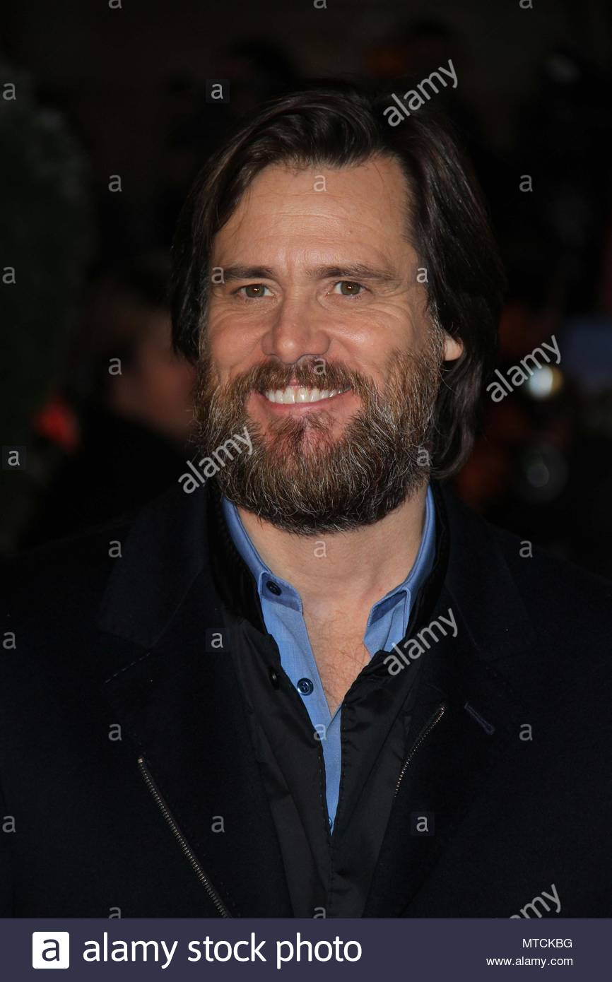 Jim Carrey. Celebrity arrivals in Leicester Square for the World ...