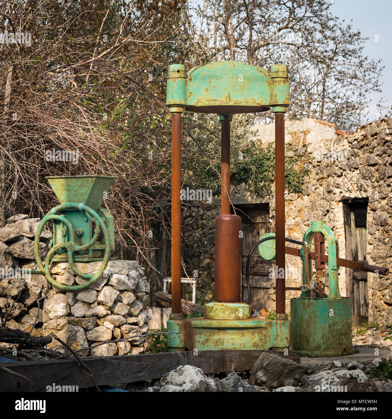 Vintage Garden Machinery Stock Photos & Vintage Garden Machinery ...
