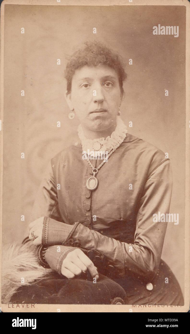Manchester CDV Carte De Visite Of A Victorian Lady