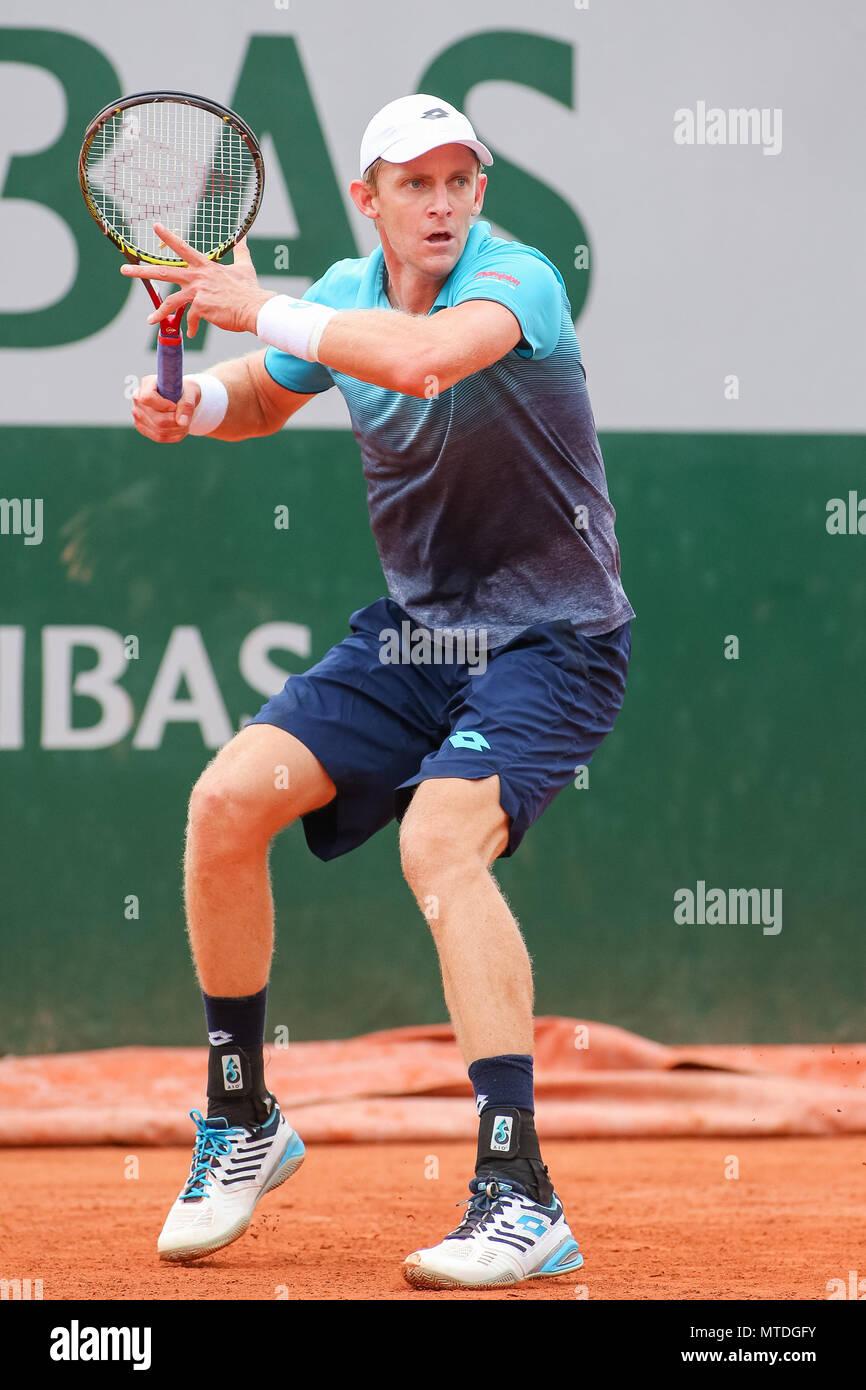 Paris France 29th May 2018 Kevin Anderson Rsa Tennis Kevin