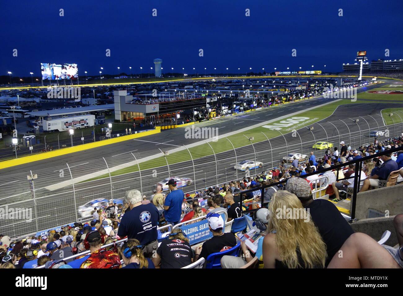 Coca Cola 600 Charlotte Motor Speedway Stock Photo