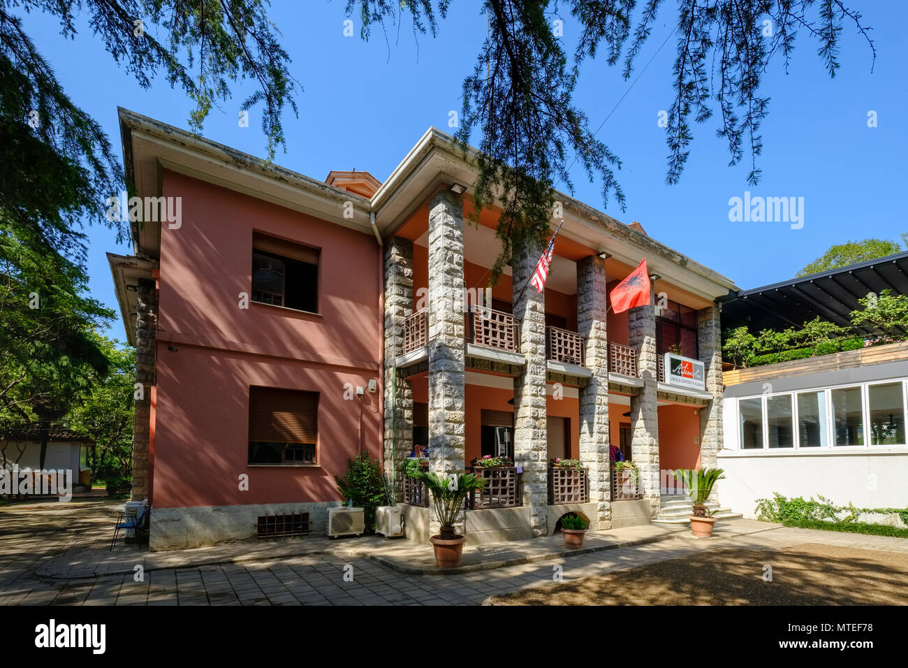 Lincoln Center, Blloku Quarter, Tirana, Albania - Stock Image