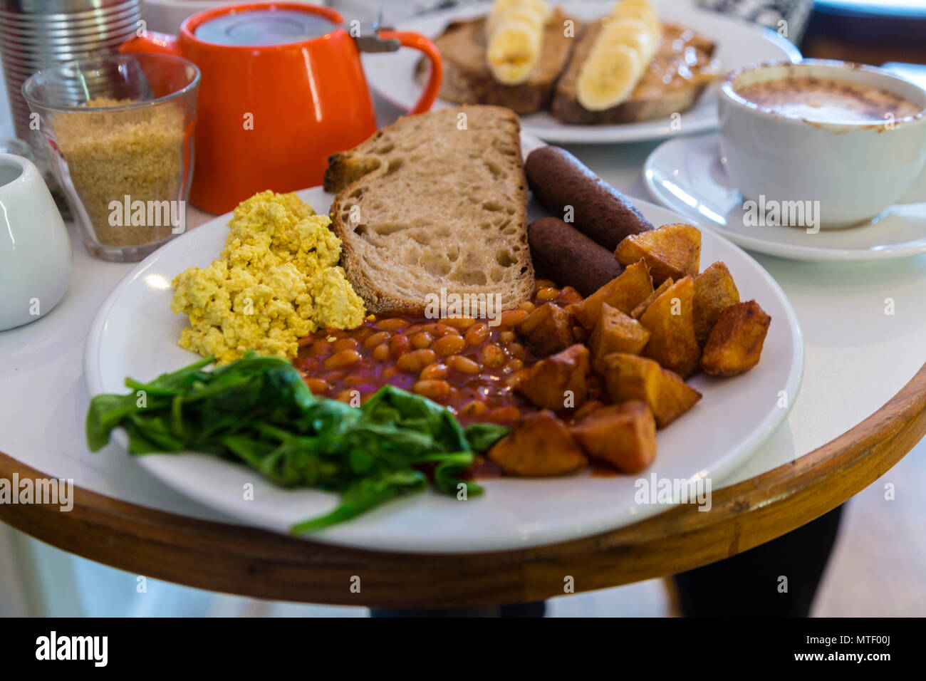 Vegan brunch london