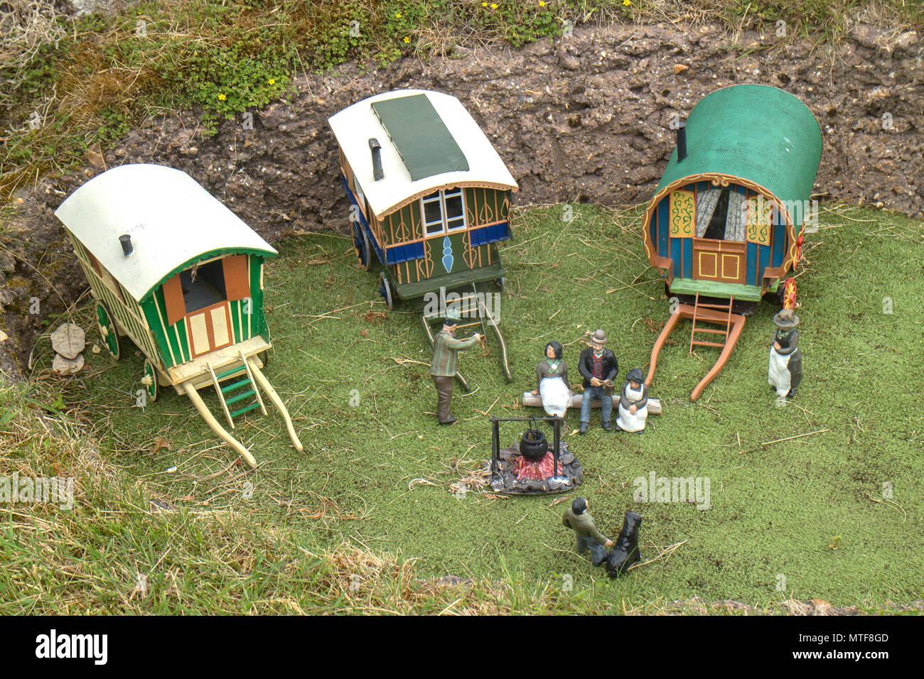 Bekonscot Model Village, Beaconsfield, Buckinghamshire - Stock Image