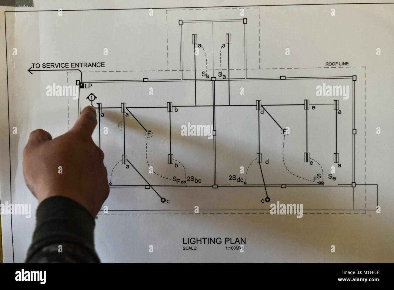 U S Military Engineers Stock Photos Electrical Service Entrance Wiring Diagram Armed Forces Of The Philippines And Us Review Plans For A Construction