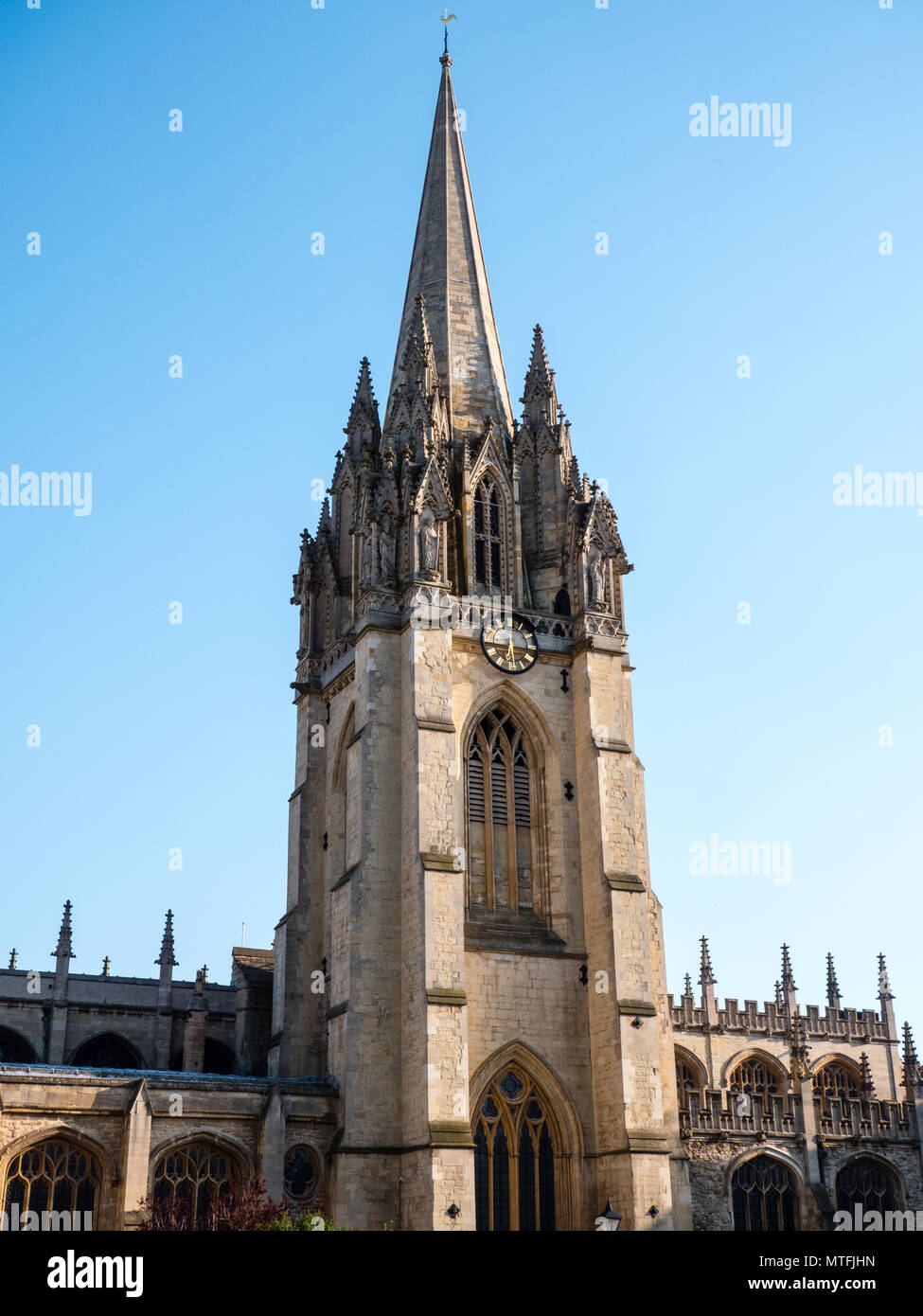 University Church of St Mary the Virgin, Oxford, Oxfordshire, England, UK, GB. - Stock Image
