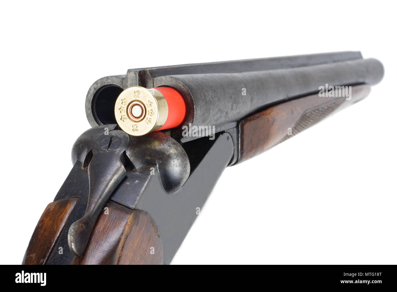Shotgun Open Cut Out Stock Images & Pictures - Alamy