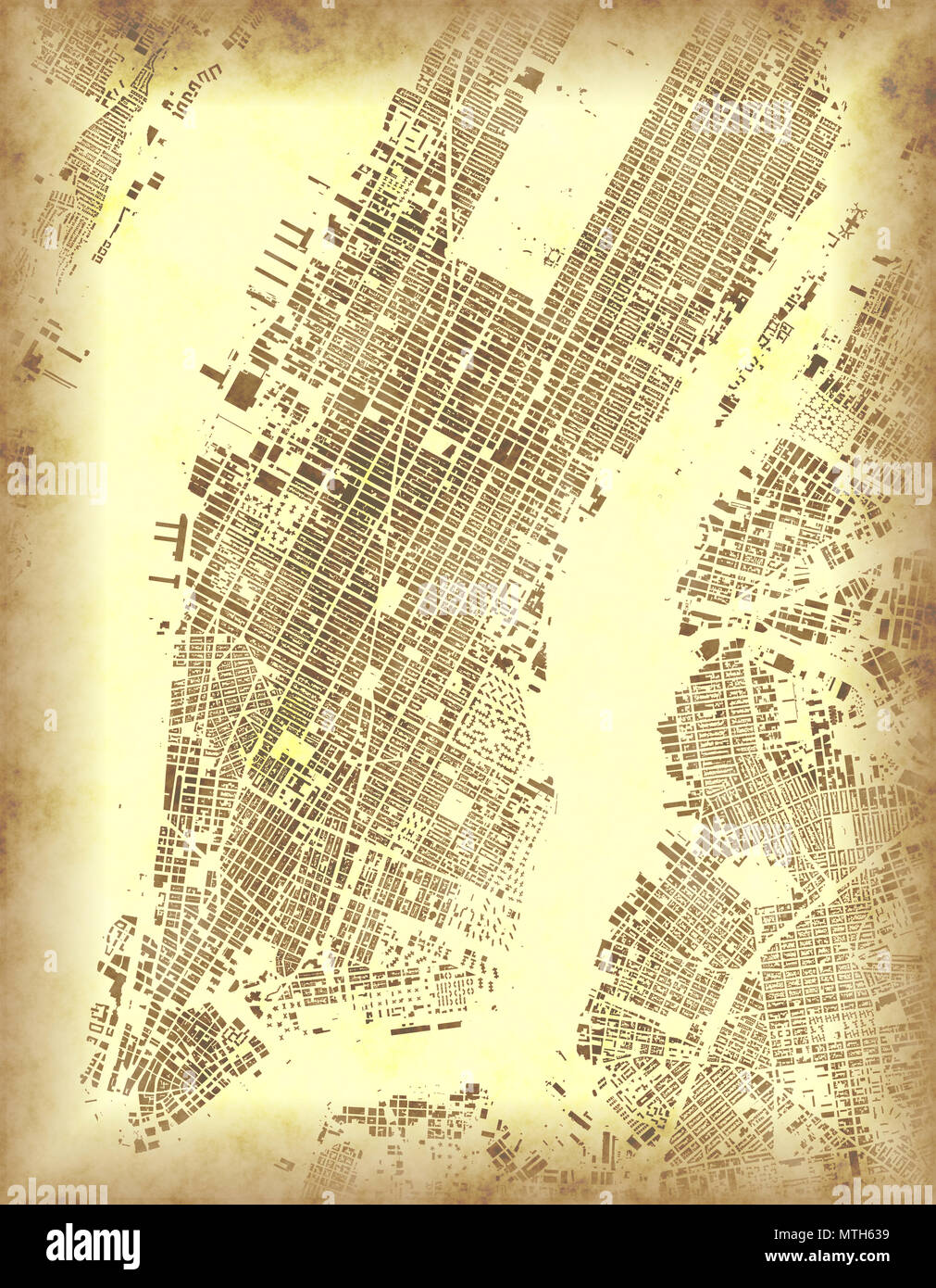 Map Of New York Satellite View United States Neighborhoods With