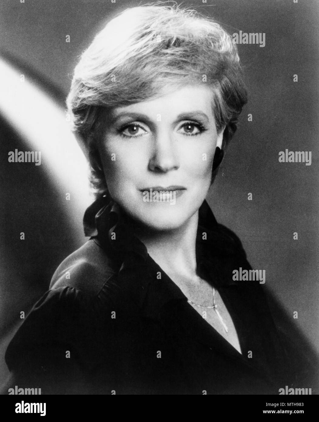 julie andrews, 1983 - Stock Image