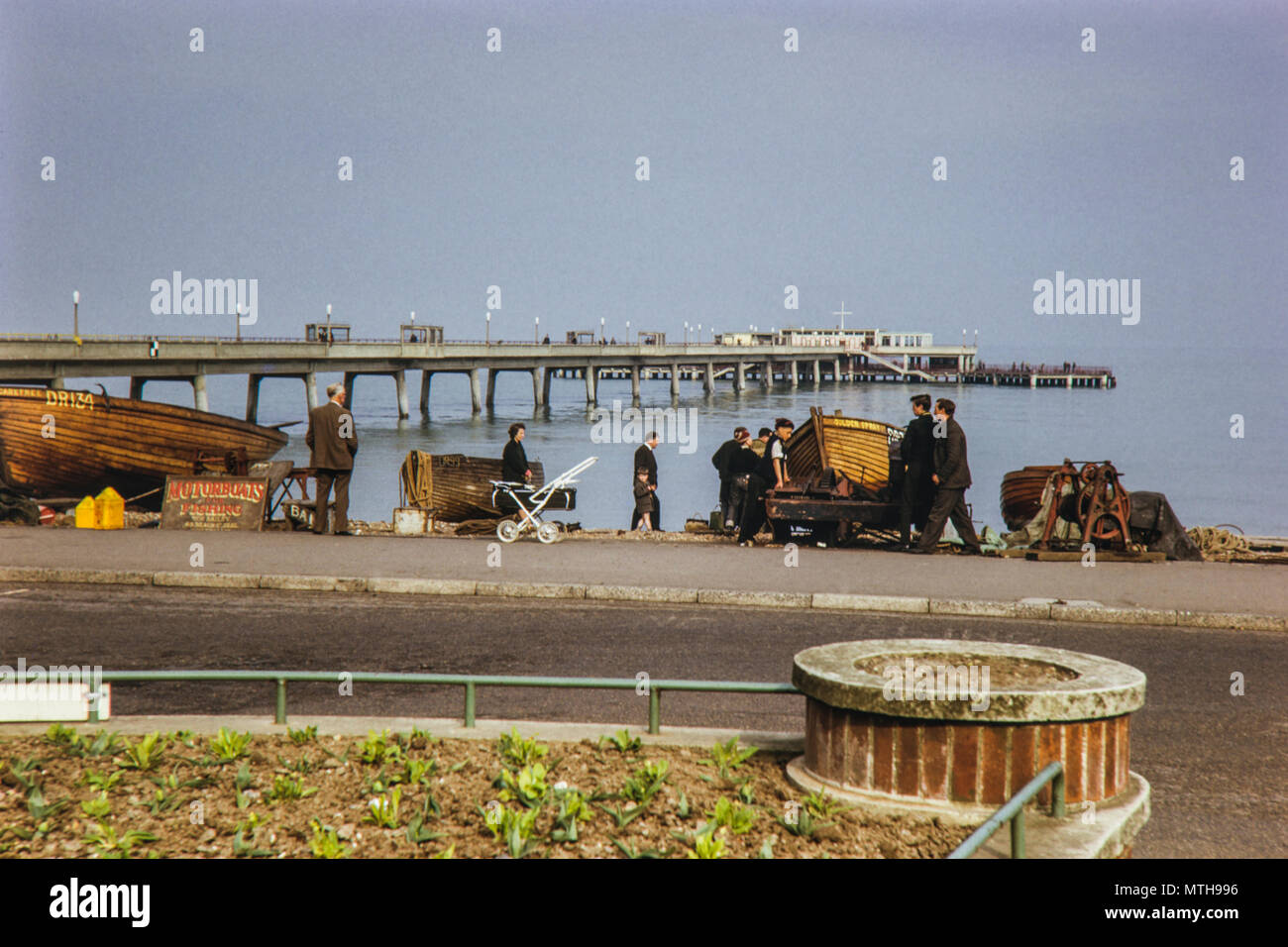 April 1965 Deal Pier, Kent - Stock Image