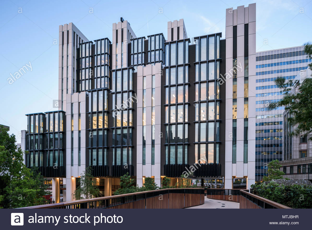 London Wall Place - Stock Image