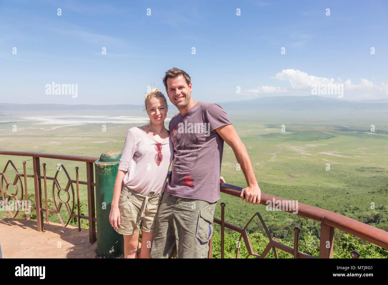 Safari vacation in Tanzania. Stock Photo