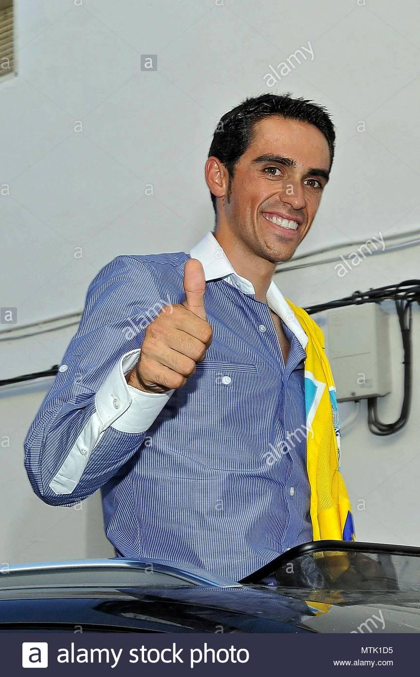 33d236be2 Alberto Contador. Spanish Tour de France winner