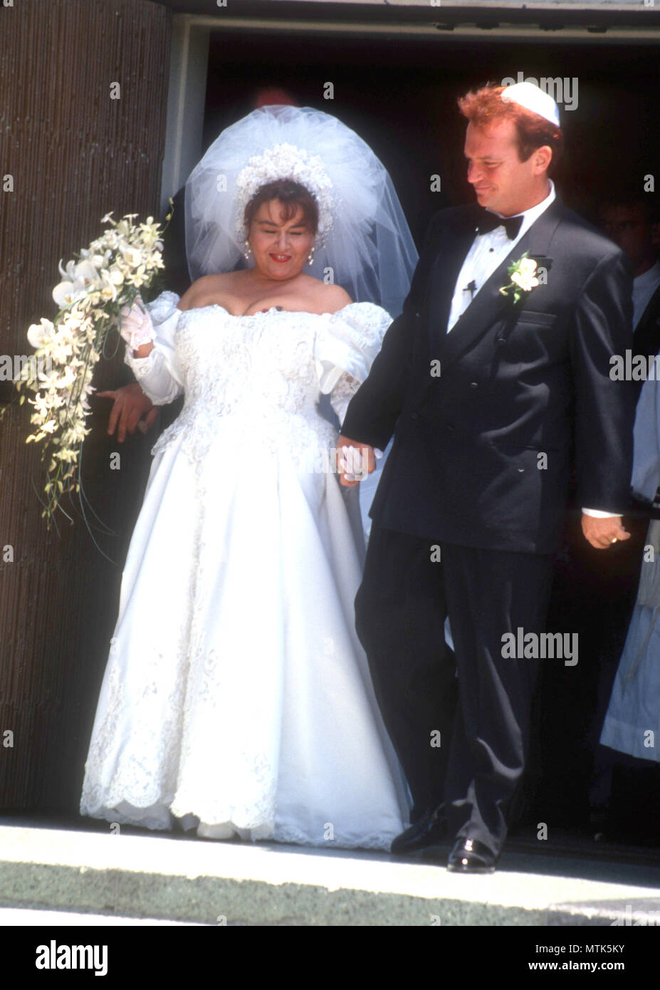 Tom arnold wedding