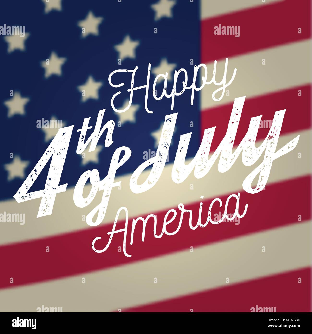 0b77a8690ea6a3 Fourth of July greeting card on the american national flag background.  Independence day. Patriotic banner for website