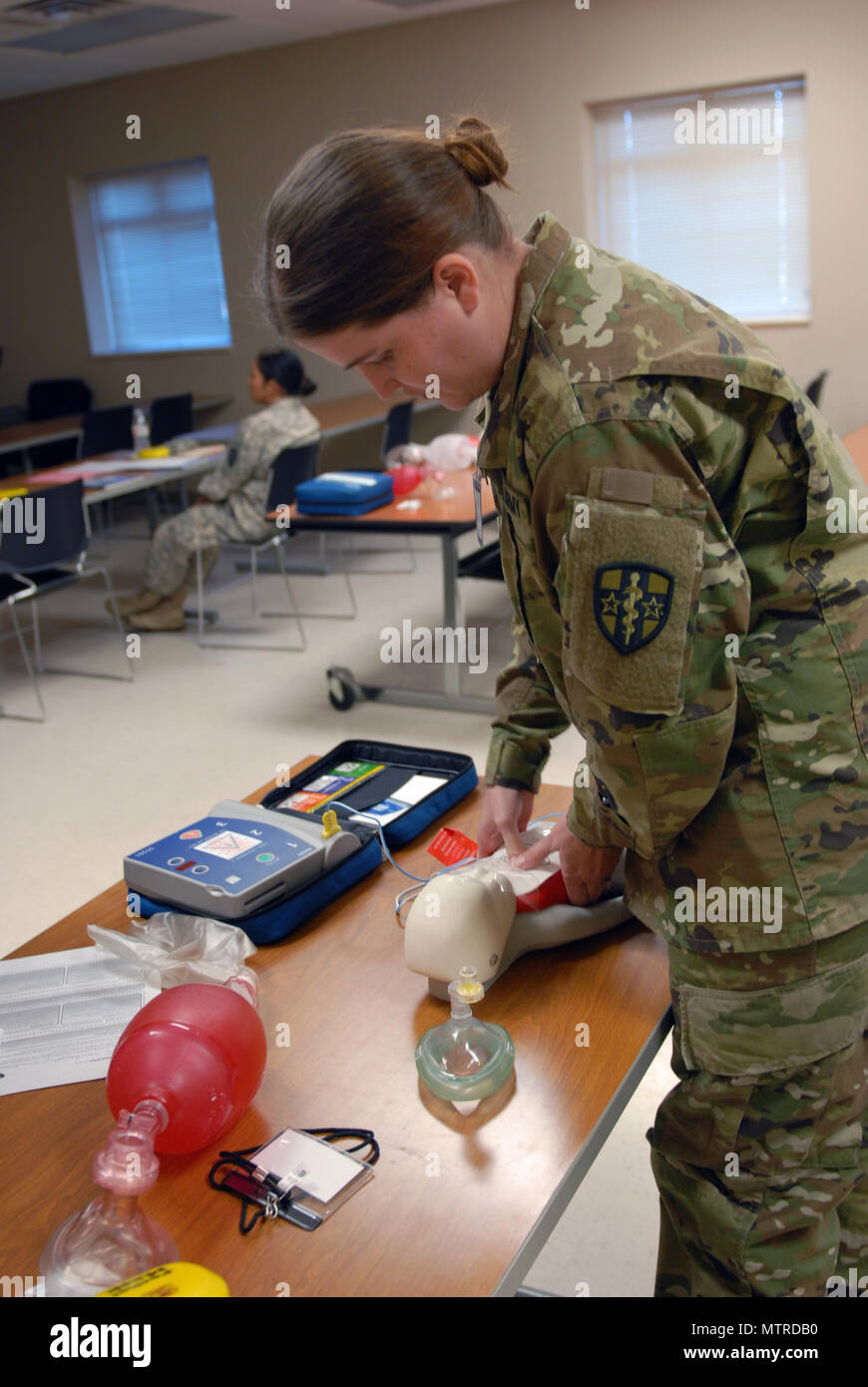Spc Cathryn Stratton Assigned To 7453rd Medical Backfill Bn