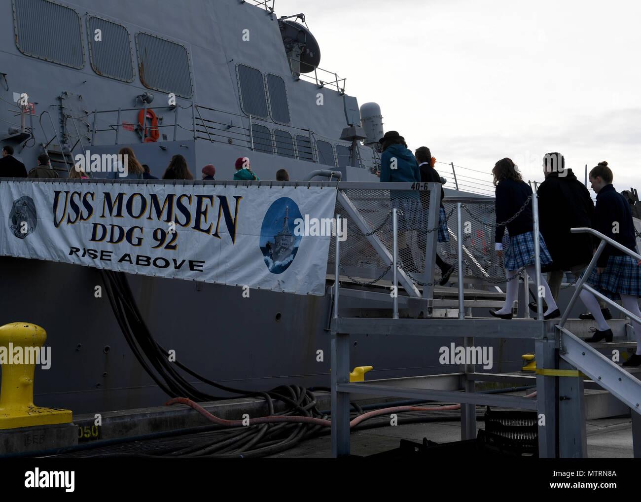 Everett Naval Station Ship Tours