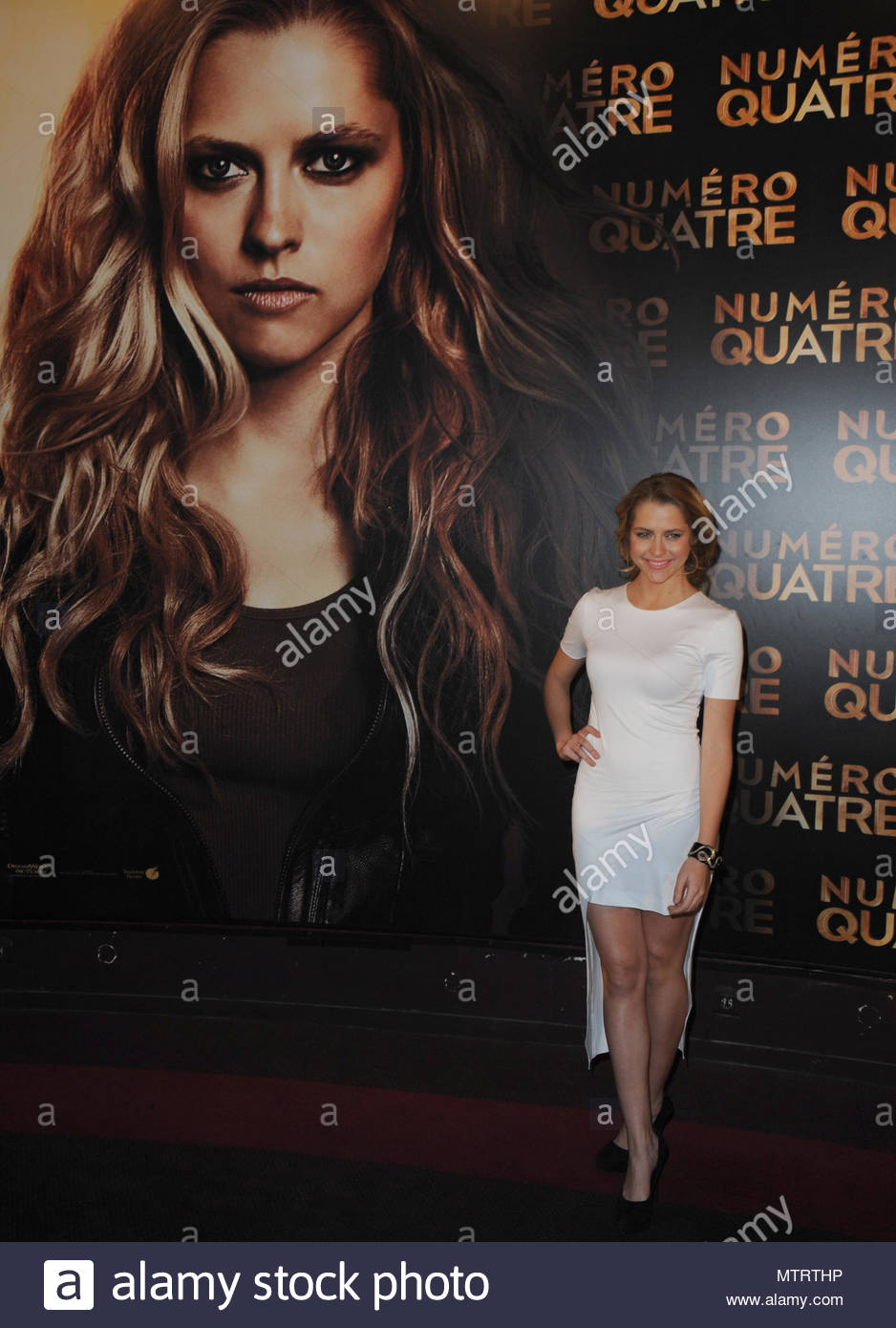 Teresa palmer the premiere of i am number four a film directed the premiere of i am number four a film directed by dj caruso in paris france freerunsca Choice Image