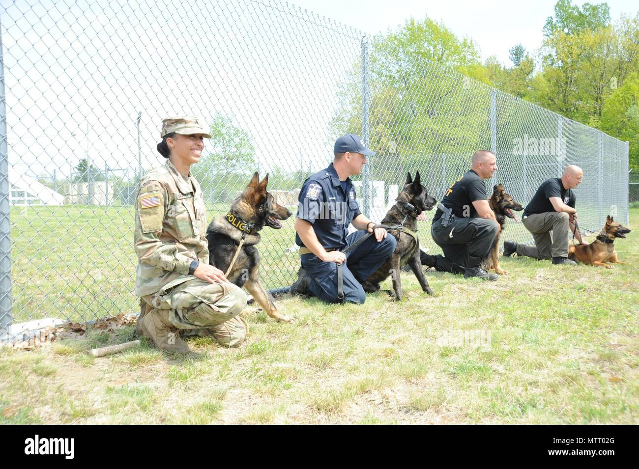 Hosted by the 8th Military Working Dog Detachment, 91st Military