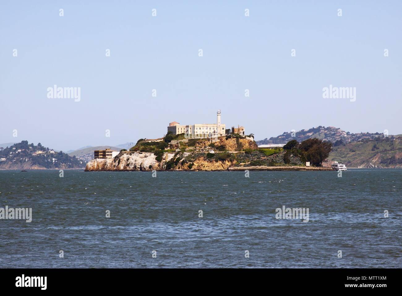 The Alcatraz prison - Stock Image
