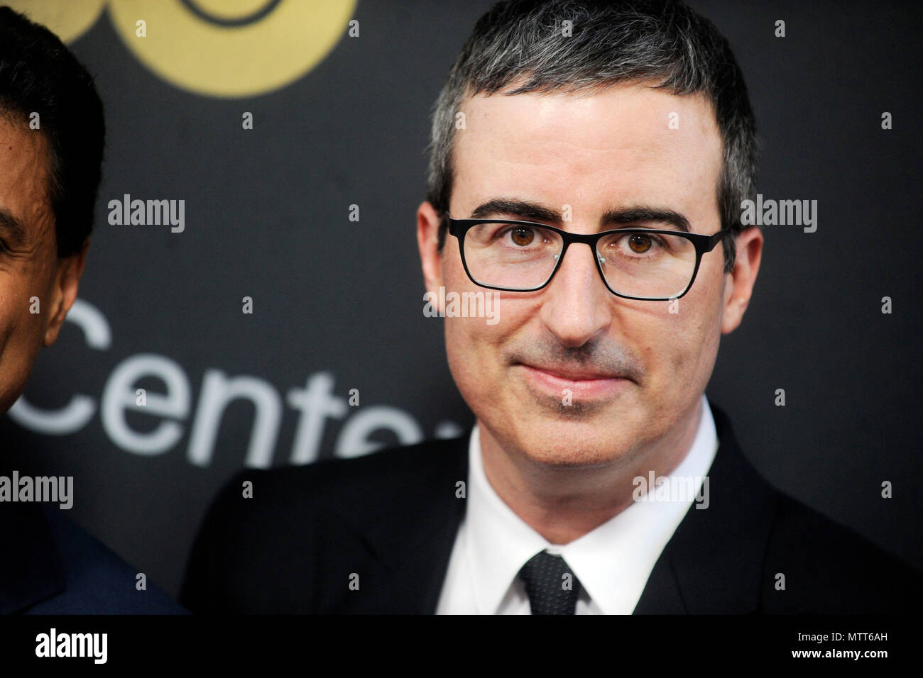 John Oliver attending the Lincoln Center American Songbook Gala 2018 at the Alice Tully Hall at Lincoln Center on May 29, 2018 in New York City. Stock Photo