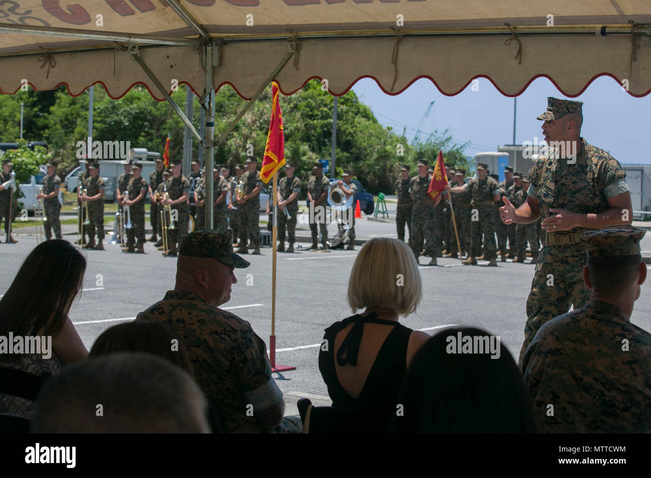 Iii Marine Expeditionary Force Sergeant Major Stock Photos & Iii ...