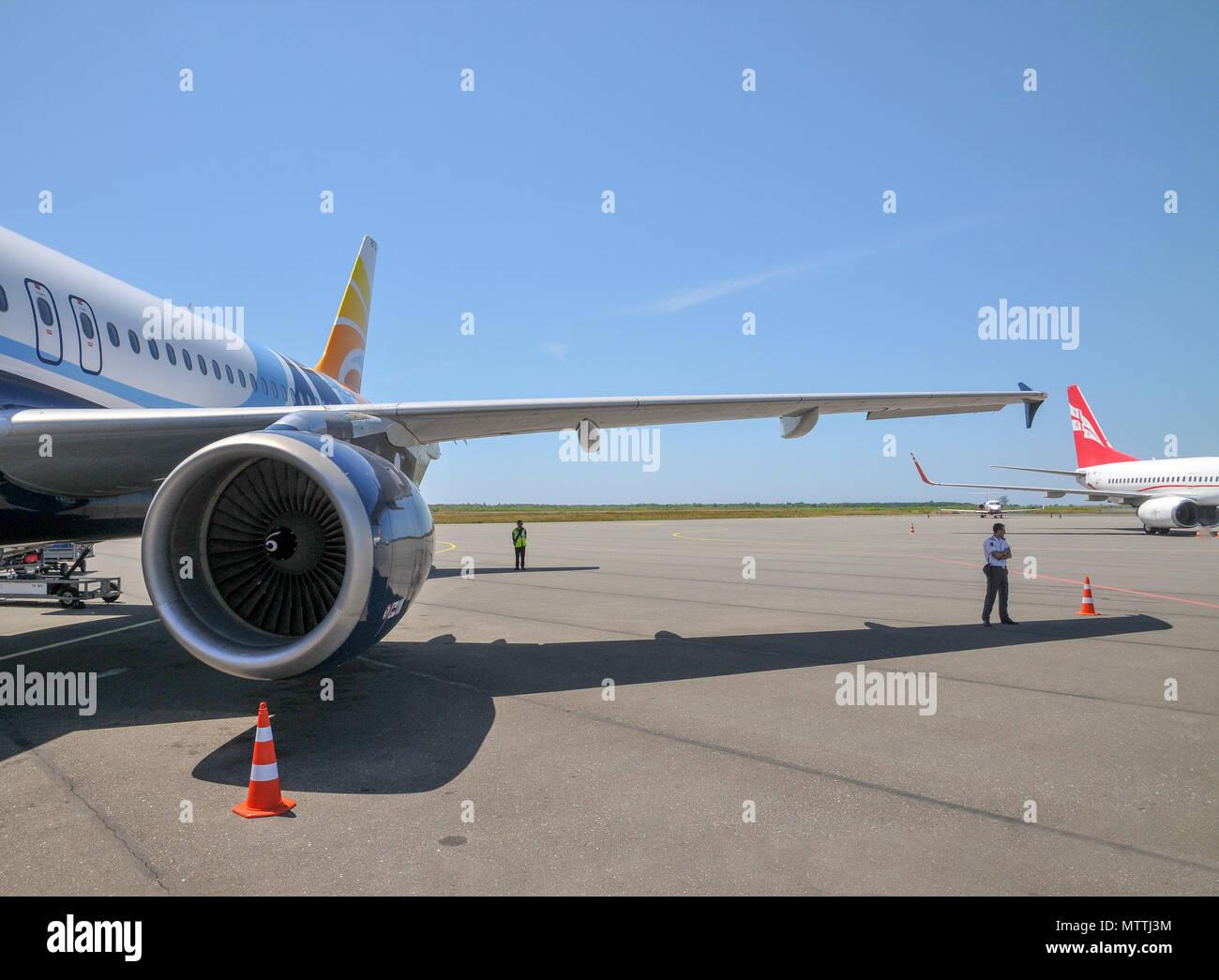Batumi international airport, Georgia - Stock Image