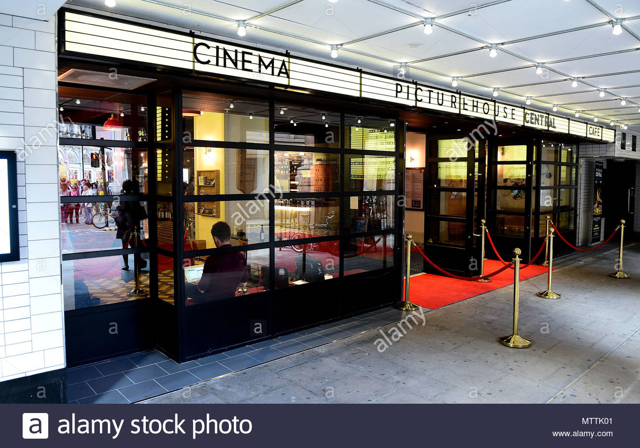 File photo dated 07/07/15 of Picturehouse Central, near Piccadilly Circus, London, where members of cinema workers' union, Bectu, at four London cinemas in the Picturehouse chain will picket the opening night of London's Sundance Film Festival on Thursday. - Stock Image