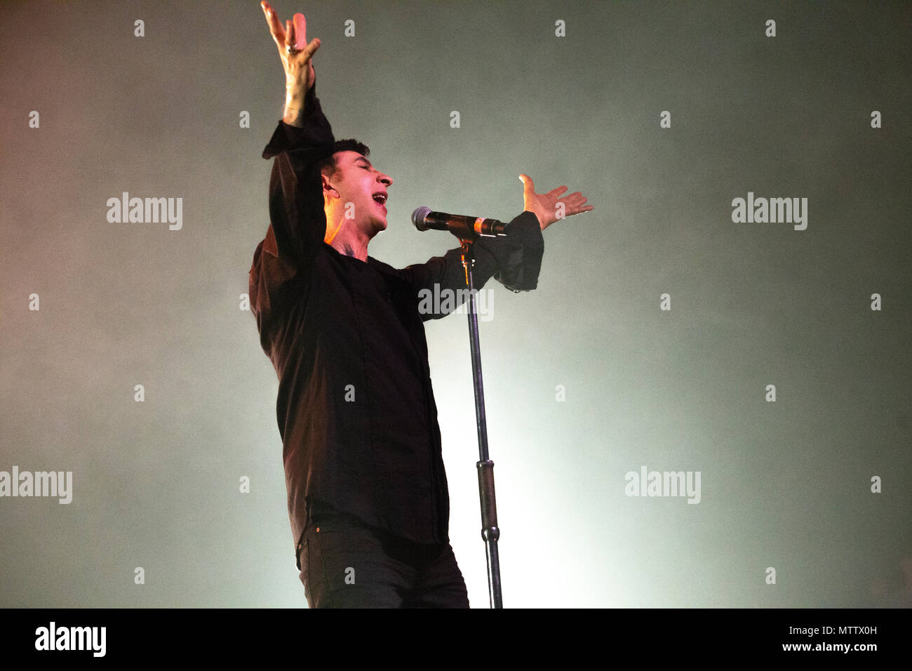Marc Almond, In The Park Festival, Southend, Essex © Clarissa Debenham / Alamy - Stock Image