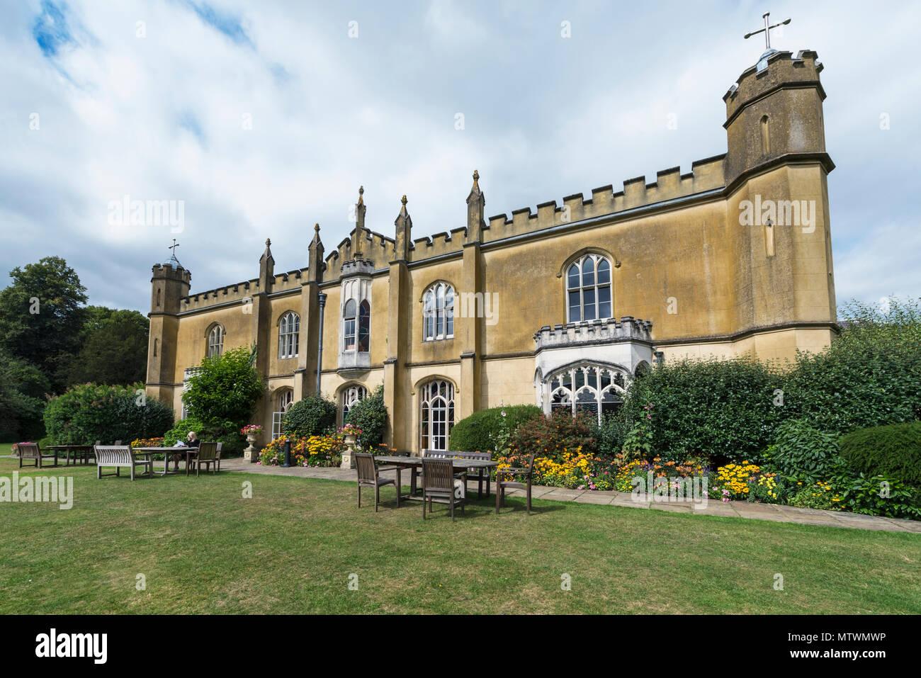 Great Missenden Abbey in Buckinghamshire - Stock Image