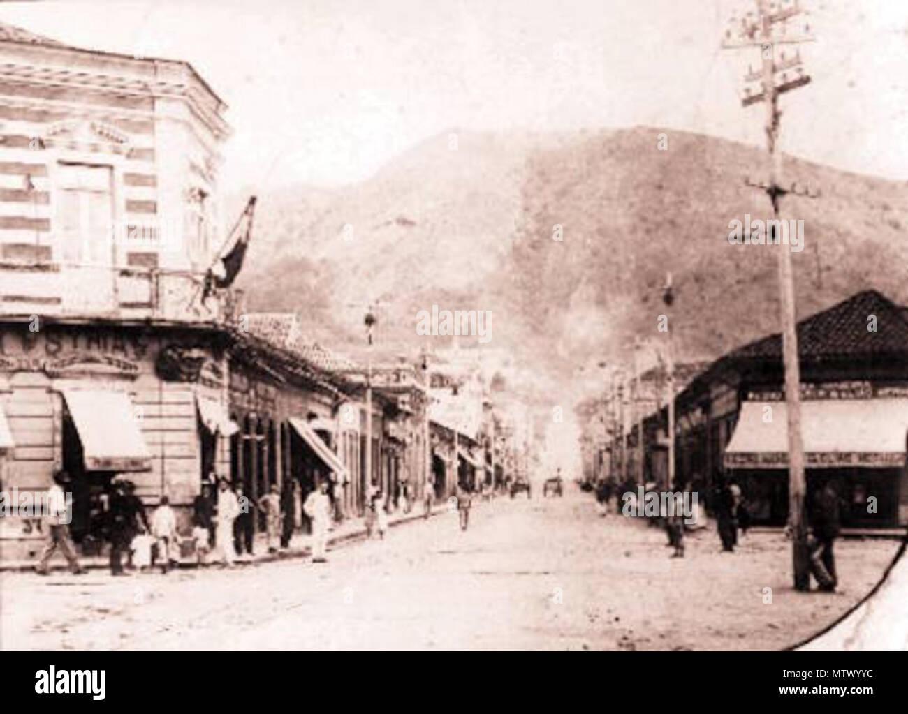 Portugues Rua Halfeld Cerca De 1907 Centro Juiz Fora Acervo