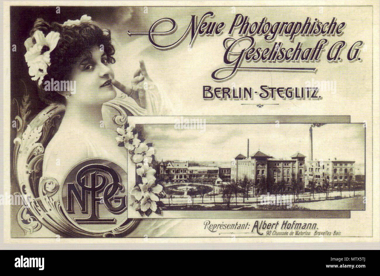 Berlin Circa 1910 Stock Photos Berlin Circa 1910 Stock